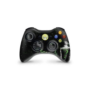 Skin Adesivo Para Xbox 360 Controle - Charada Batman