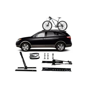 Suporte Transbike Rack Teto Universal Hyundai Vera Cruz