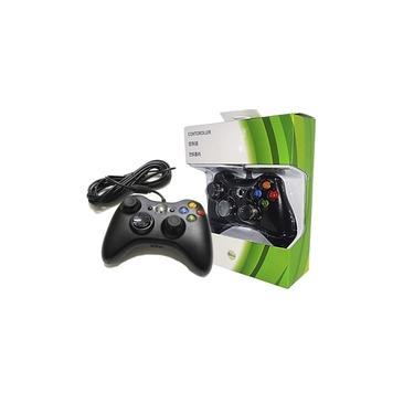 Controle Xbox 360 Slim com Fio USB Feir Fr-305 Preto