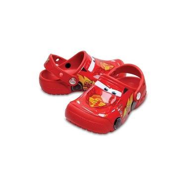 Crocs Infantil Carros Vermelho 204116-8c1