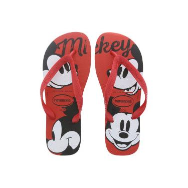 66eee4299 Chinelo Havaianas Top Disney CF Mickey - Masculino - VERMELHO Havaianas
