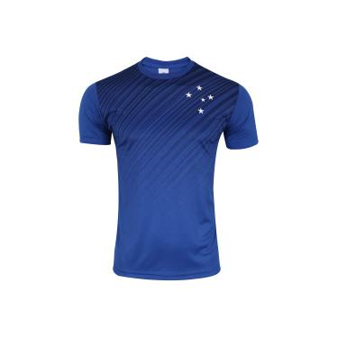 Camiseta do Cruzeiro Sublimação Upgrade - Masculina - AZUL Xps Sports c8f7ac3271fcc