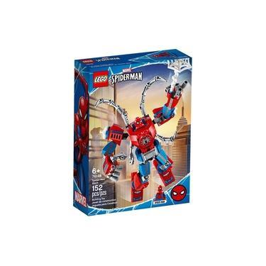 LEGO Super Heroes - Disney - Marvel - Homem Aranha - Robô Spider-Man - 76146