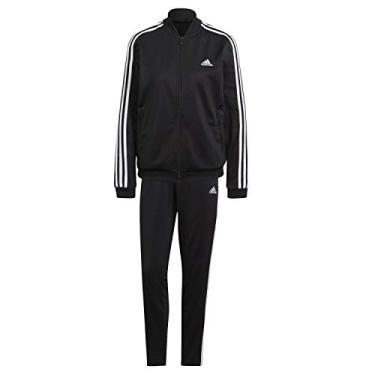 Agasalho Adidas Essentials 3 Stripes Feminino