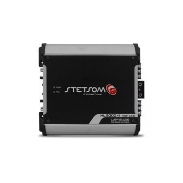Stetsom Modulo Amplificador Hl2000.4 2000w Rms 4 Canais 2 Ohms
