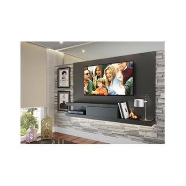 Painel para TV até 60 polegadas c/ 1 gaveta Grafite - Quiditá