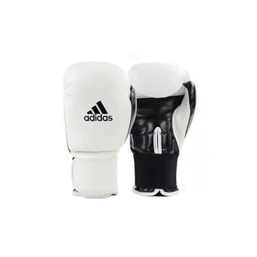 Luva de Boxe Muay Thai Adidas Power 100 Colors Branco/Preto