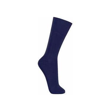 Imagem de Meias Sociais Masculina - Azul