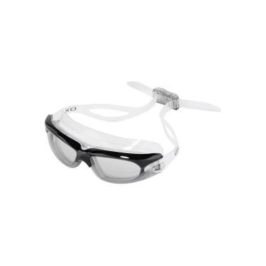 6169f9cceb644 Óculos de Natação Oxer G-8033 - Adulto - PRETO CINZA Oxer