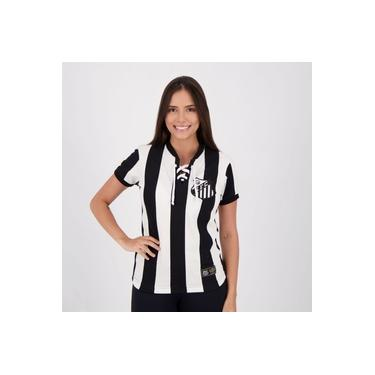 Camisa Santos Retrô Cordinha Feminina