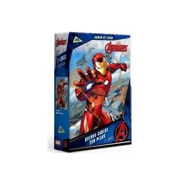 Imagem de Quebra-cabeça Os Vingadores Homem De Ferro 200 Peças Toyster