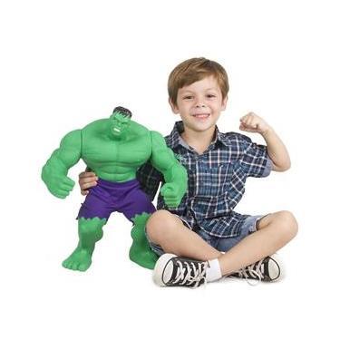 Boneco Gigante Hulk Marvel Avengers Revolution Mimo