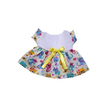 Imagem de Roupa para boneca baby Alive Litte Mommy até 35 cm - kit com 1 vestido, 1 calcinha e bolsa