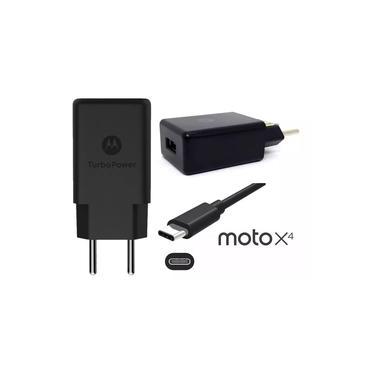 Carregador Motorola Turbo Power Usb Tipo C Moto One Z Z2 Z3 Play X4 M G6 G6 Plus G7 G7 Power M14106