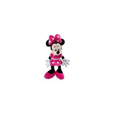 Imagem de 1 Boneca De Pelúcia Minnie Laço Rosa Tamanho 50cm