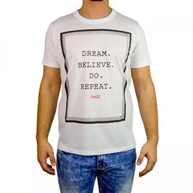 e8a441ea84 Camiseta Masculina Coca-Cola Manga Curta 035.32.05144