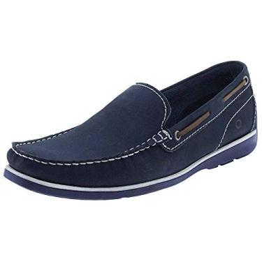 Sapato Mocassim Democrata 135101 - Azul