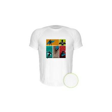 Camiseta Dry-Fit Air Super Heroi