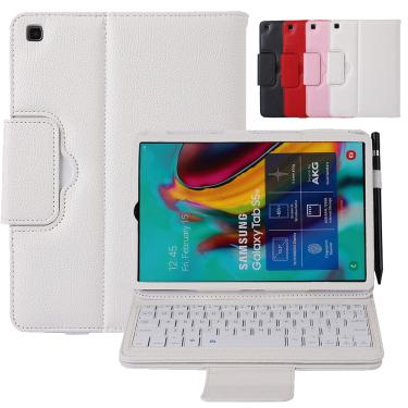 Para samsung galaxy tab s6 lite 10.4 2020 teclado sem fio bluetooth destacável tablet caso para