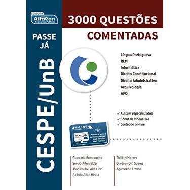 Banca Cespe - Passe Já - Questões Comentados - Equipe Alfacon - 9788583391685
