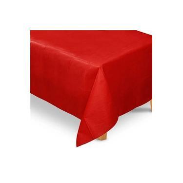 Imagem de Toalha de Mesa TNT Vermelho 1,40m x 2,20m - 01 unidade