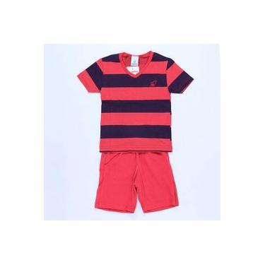 Pijama Pepila Space Vermelho - Pepila
