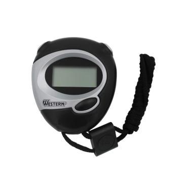 Cronômetro Digital Esportivo 7 CM CR53 com Alarme, Relógio e Data WESTERN