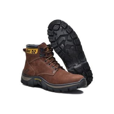 Bota Adventure Coturno Triton Spiller Shoes - Marrom