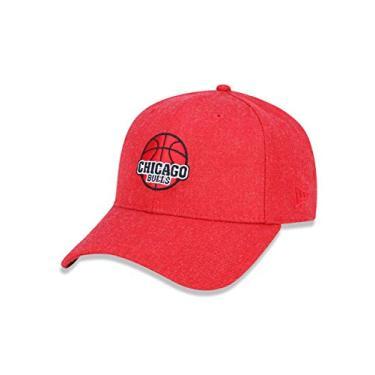 BONE 9FORTY CHICAGO BULLS NBA ABA CURVA SNAPBACK VERMELHO NEW ERA