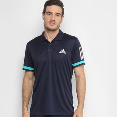 Camisa Polo Adidas Club 3 Listras Feminina - Masculino a747d81830e77