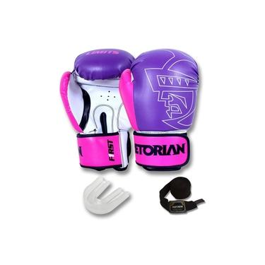Kit Boxe/Muay Thai Pretorian First - Roxo / Rosa