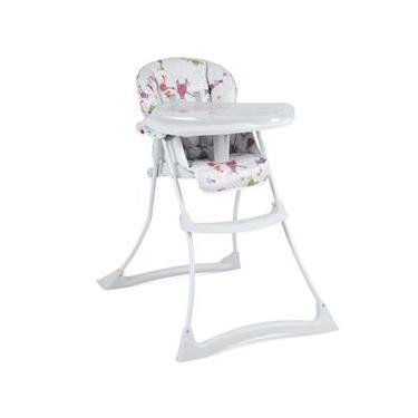 Cadeira para Refeição Burigotto Papa Soneca Monstrinhos - 0 até 15kg - Branco