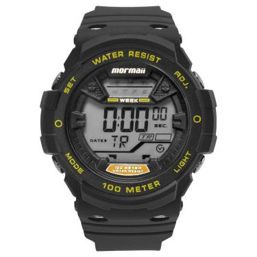 Relógio de Pulso Masculino Mormaii Resistente a àgua   Joalheria ... 0d08134d30
