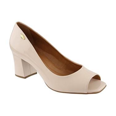8a518d029 Sapato Peep Toe Luz Da Lua   Moda e Acessórios   Comparar preço de ...