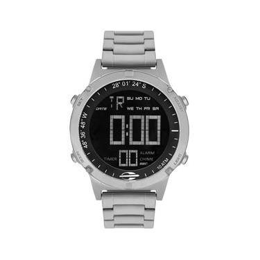 13e3e0bf901 Relógio Mormaii Masculino Ref  Mow13901 1p Slim Surf Prateado