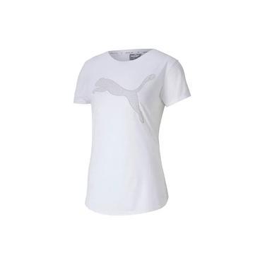 Camiseta Puma Evostripe - branca