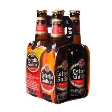 Cerveja Estrella Galicia Long Neck 330 ml