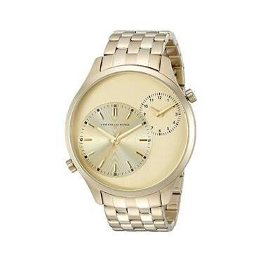 ac22af83eca Relógio Masculino Armani Exchange Modelo AX2176 - Folheado a Ouro   A prova  d  água