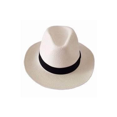 Chapéu Moda Panamá Aba Media Feminino Clássico