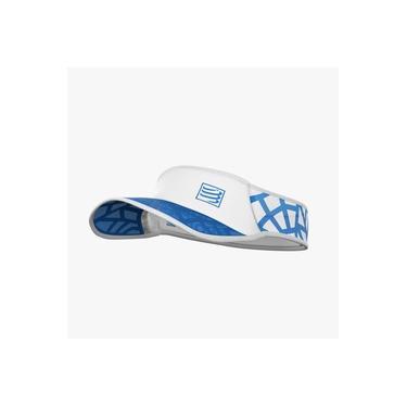 Viseira Ultralight Spiderweb Branca/Azul