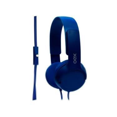 Imagem de Headphone Infantil Oex Kids Hp303 Teen - Com Microfone Azul