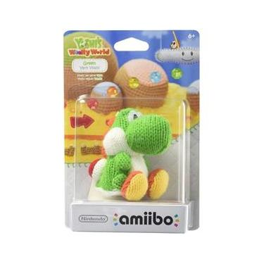 Amiibo Green Yarn Yoshi (Yoshi`s Woolly Series)