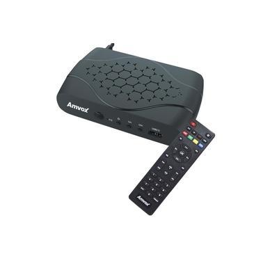 Receptor Conversor Tv Digital Full HD Função Gravador USB Hdmi Rca Amvox ACD 311 Bivolt