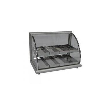 Estufa para Salgados 8 bandejas dupla Aluminio - Alsa