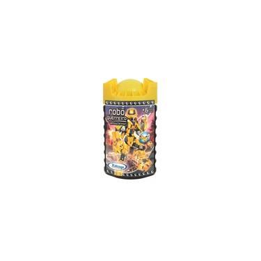 Imagem de Robo Guerreiro Yellow Armor 57 Pcs 6998 - Xalingo