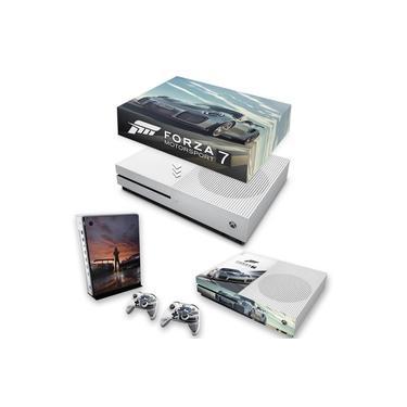 Capa Anti Poeira e Skin para Xbox One S Slim - Forza Motorsport 7