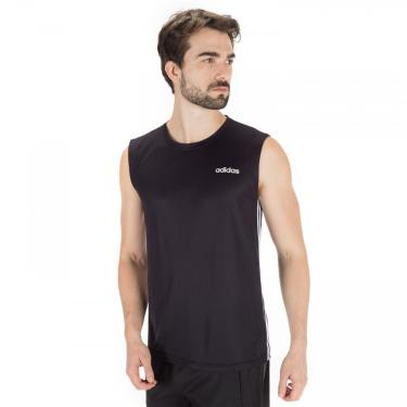 Camiseta Regata adidas D2M 3S 19 - Masculina adidas Masculino