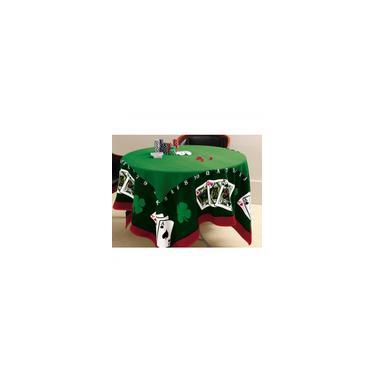 Imagem de Toalha de Mesa para Jogo 155cmx155cm Joker Lepper Verde