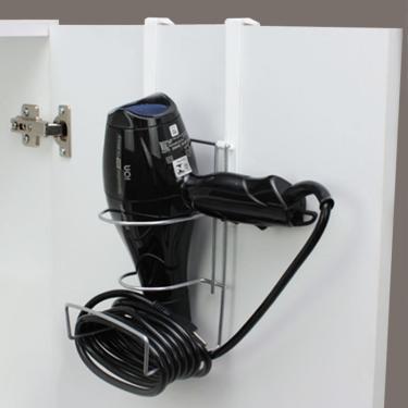 Imagem de Suporte de Secador de Cabelo com Enrolador de Fios Plus