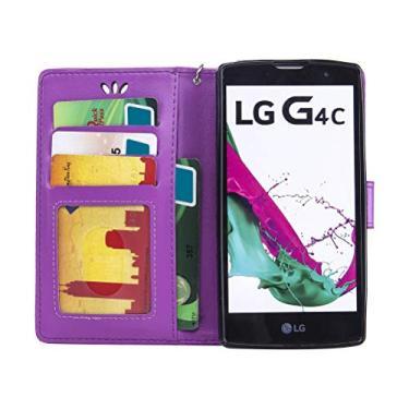 1 capa de telefone à prova de choque, anti-arranhões, dobrável, resistente a quedas, capa traseira para celular com alça para LG G4 Mini